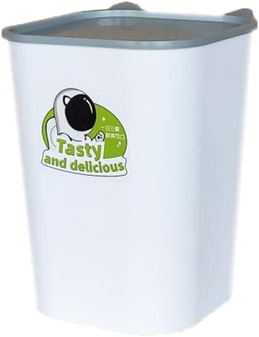 CWYSJ Perro Comida for Gatos Caja del alimento, Sealed Cubo de Almacenamiento de Alimentos, Snack Prueba de Humedad de la Caja de almacenaje, Puede acomodar a 6 kg de Alimentos: Amazon.es: Hogar