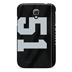 Cute Appearance Cover/tpu Dxy666PdDL Oakland Raiders Case For Galaxy S4