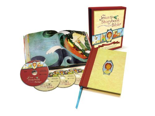 The Jesus Storybook Bible Collector's Edition: With Audio CDs and DVDs by Sally Lloyd-Jones (2012-11-06)