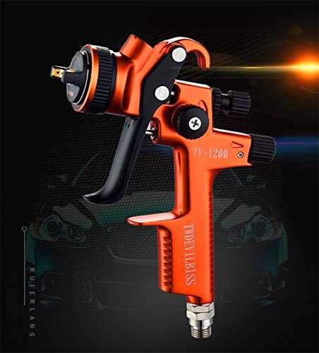 2019 New Model TV-1200 Spray Gun Airbrush Car Paint Gun 1.3mm Nozzle 600cc Gravity Feed Sprayer