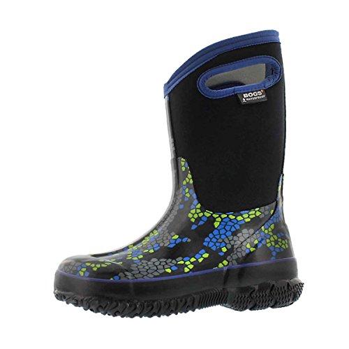 Bogs Kids Classic High Waterproof Insulated Rubber Neoprene Rain Boot Snow