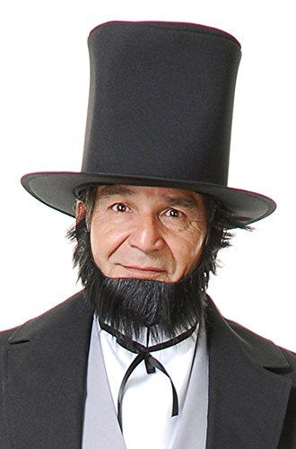 Honest Abe Lincoln Beard (Abe Lincoln Curtain Beard)