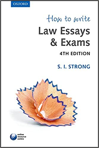 how to write law essays exams s i strong  how to write law essays exams 4th edition