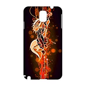 Cool-benz arcanine evolution growlithe fire pokemon (3D)Phone Case for Samsung Galaxy note3
