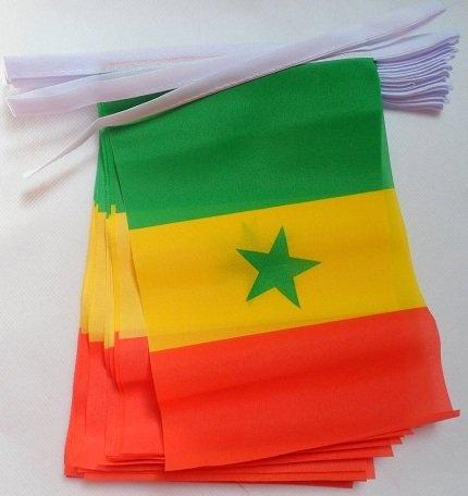 AZ FLAG Bandera de Senegal 90x60cm Bandera SENEGALESA 60 x 90 cm
