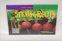 Book Plant Stems & Roots (Look Once, Look Again)