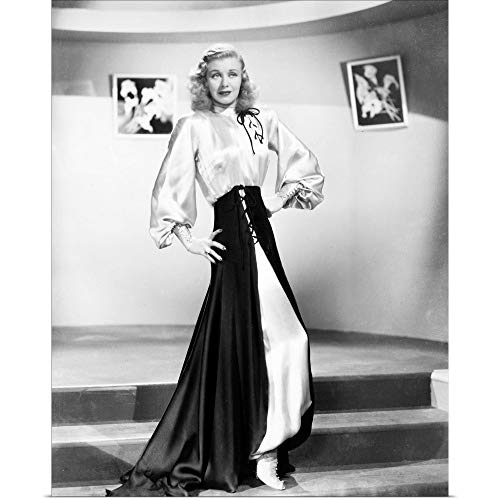 GREATBIGCANVAS Poster Print Entitled Ginger Rogers (1911-1995), Actress by