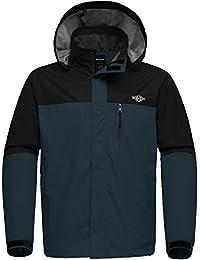 """<span class=""""a-offscreen"""">[Sponsored]</span>Men's Hooded Outdoor Windproof Rain Jacket Waterproof Hiking Jacket"""