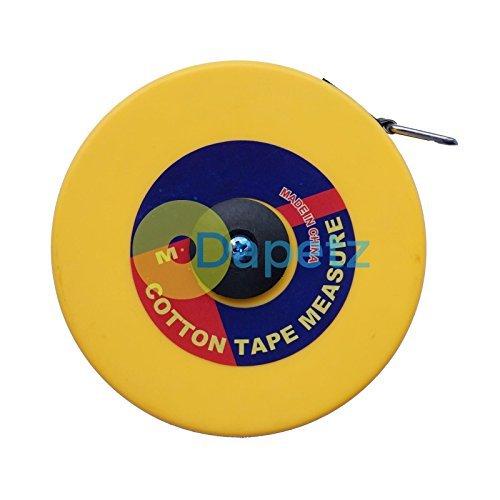 Dapetz ® Surveyors 30M Tape Measure Fibreglass 30 Metre Metric Imperial