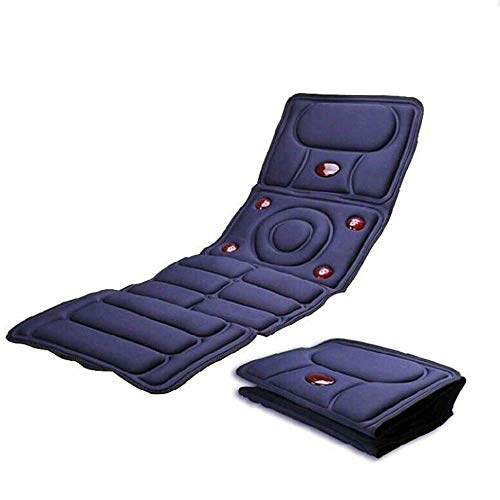 (Foldable Electric Body Massage Mattress,Multifunctional Infrared Physiotherapy Heating Bed Sofa Massage Cushion,)