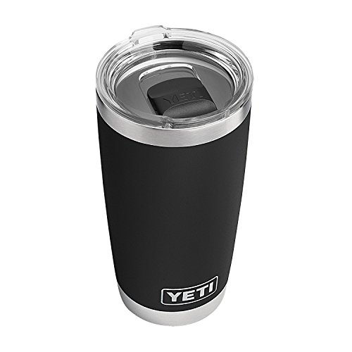 - YETI Rambler 20 oz Stainless Steel Vacuum Insulated Tumbler w/MagSlider Lid, Black