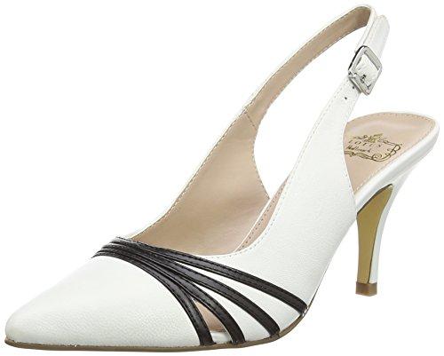 Maja Zapatos Maja Mujer Mujer Blanco Maja Blanco Lotus Zapatos Lotus Lotus nw0qf4HH