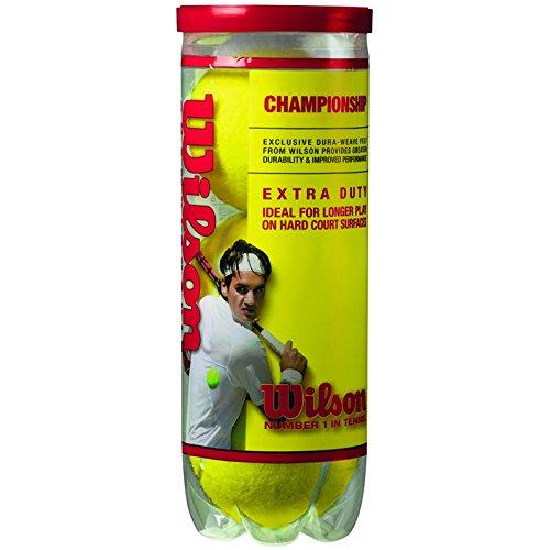 Wilson Tennis Balls #T1001 3PK Hard Tennis Balls