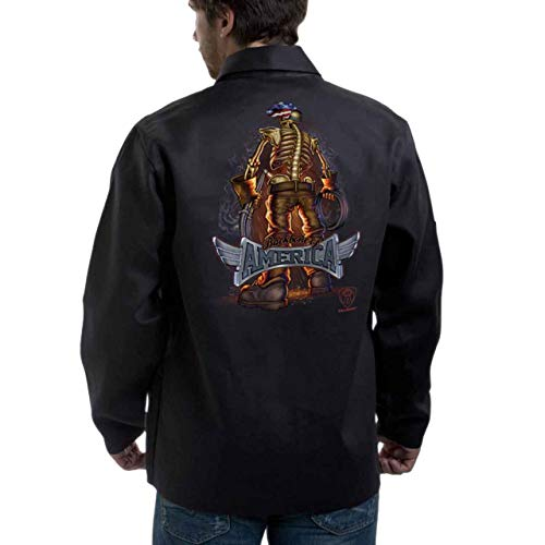 "Tillman 9061 30"" 9 oz. FR Cotton Jacket ""Backbone of America"" Logo, 3X"