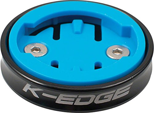 K-Edge Gravity Cap Computer Mount for Wahoo Black, One Size