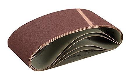Triton TPTA12366393 100 x 560 mm 80 Grit Sanding Belt Multi-Colour Pack of 5