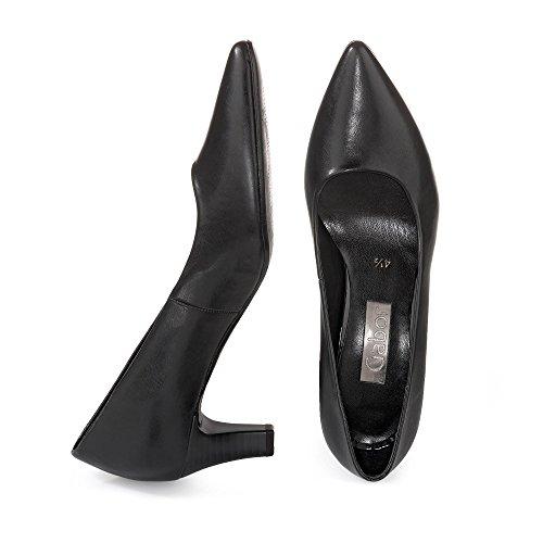 Les Pompes De La Mode Des Femmes Gabor, Noir Beige