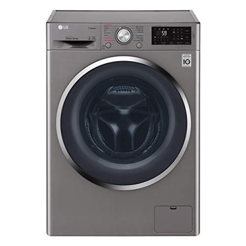LG 8Kg Washer & 5 Kg Dryer 1400 RPM Washer Dryer, Stone Silver - F4J6TGP2S, 1 Year Warranty