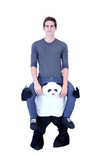 Costume Agent Men's Piggyback PANDA Ride-On Costume, Panda, Adult Standard - Panda Costume Men