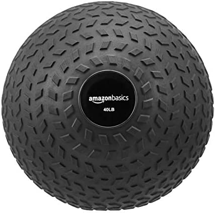 AmazonBasics Excersize Slam Ball, Arrow Grip