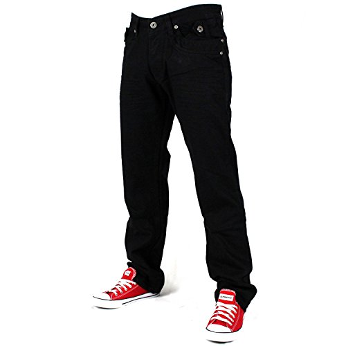 Herren Jeans Hose Straight Fit ID201