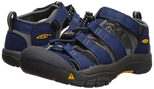 KEEN Big Kid (8-12 Years) Newport H2 Blue Depths/Gargoyle Sandal - 7 Child US Big Kid