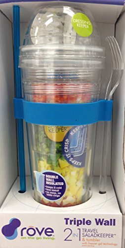 2 in 1 Travel Salad Keeper & Tumbler by ROVE by ROVE