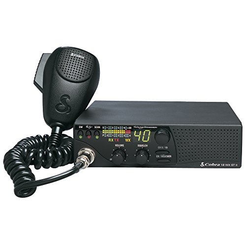Cobra 18WXSTII Mobile CB Radio with Dual - Channel Watch Marine