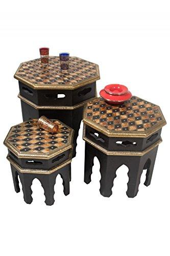 Orientalische Beistelltische orientalische beistelltische tische beistelltische verziert mit