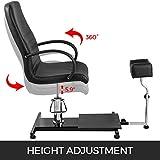 Happybuy Hydraulic Lift Adjustable Spa Pedicure