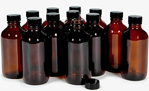 glass amber bottles - 3