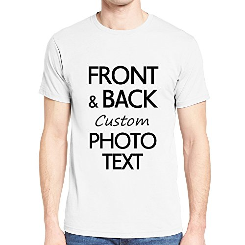 Custom School,Birthday,Rooters,Sports T Shirts Design Your Own Two Sides Print White