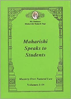 Book Maharishi Speaks to Students: Mastery Over Natural Law by His Holiness Maharishi Mahesh Yogi (1997-01-04)