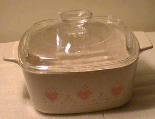 Corelle With Lid Casserole - Corning Corelle Forever Yours 1 1/2 Qt. Casserole with Lid