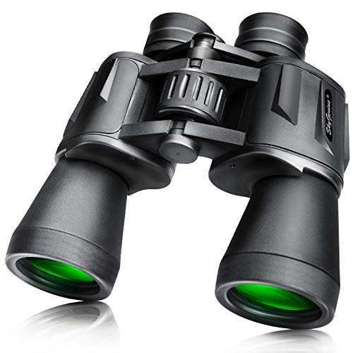 SkyGenius 10 x 50 Powerful Full-Size Binoculars for Adults