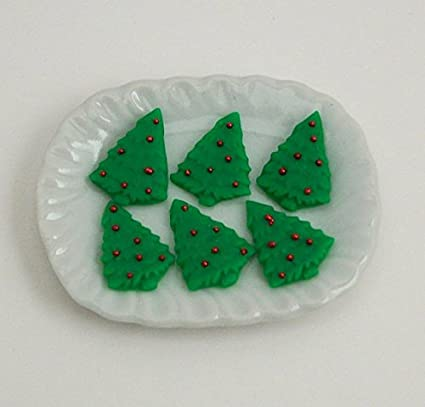 Amazon Com 1 12 Dollhouse Scale Christmas Tree Sugar Cookies