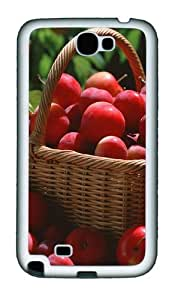 A Basket Of Plums Personalized Samsung Galaxy Note 2/ Note II/ N7100 Case and Cover - TPU - Black