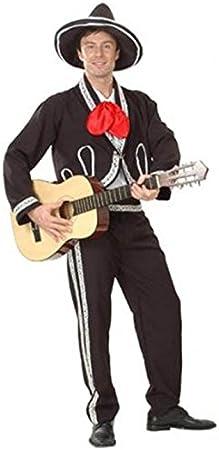 Adulto disfraz de Mariachi Mexicano: Amazon.es: Juguetes y juegos