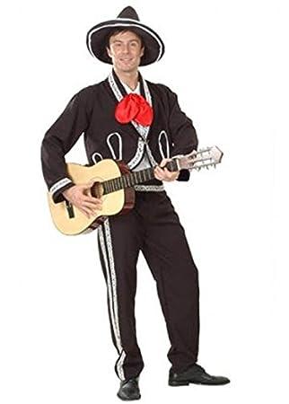 Adulto disfraz de Mariachi Mexicano: Amazon.es: Juguetes y ...