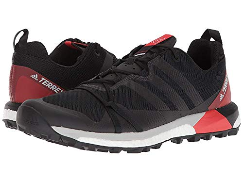 adidas outdoor Men's Terrex Agravic Black/Carbon/Hi-Res Red 10 D US