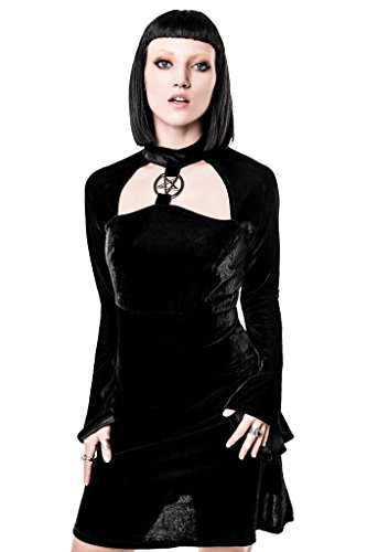 Killstar - Vestido - trapecio - para mujer negro