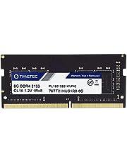 Timetec Hynix IC 8GB DDR4 2133MHz PC4-17000 Unbuffered Non-ECC 1.2V CL15 1Rx8 Single Rank 260 Pin SODIMM Laptop Notebook Computer Memory RAM Module Upgrade (8GB)