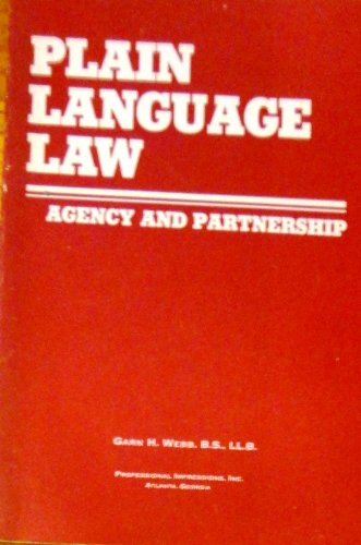 Agency and Partnership (Plain language law)