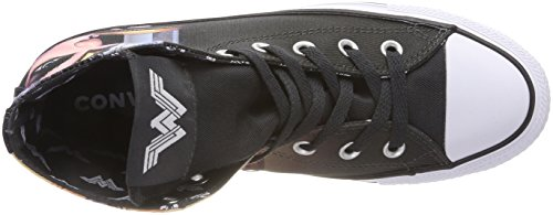 Baskets Hautes Noir Converse Black White Mixte Hi CTAS Adulte qa6w1IT