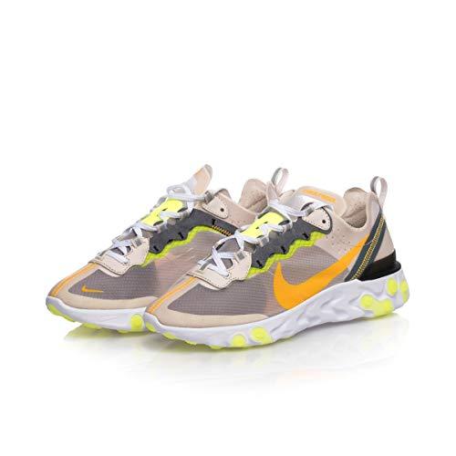 Da volt Orewood laser React 87 Glow Scarpe Atletica Brn Leggera Element Nike 101 Orange Uomo Multicolore lt 6fwqR7InW
