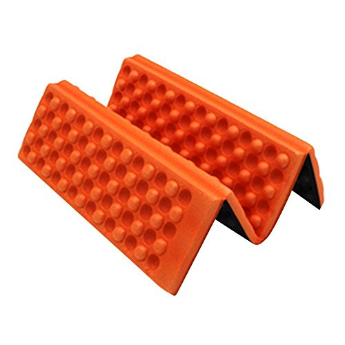 Hecentur Moisture-Proof Folding XPE Foam Pads Mat Foldable Outdoor Hiking Sports Camping Dinning Cushion Seat Mat Foam Sitting Pad Backpacking, Camping, Hiking, Hammocks, Tents More