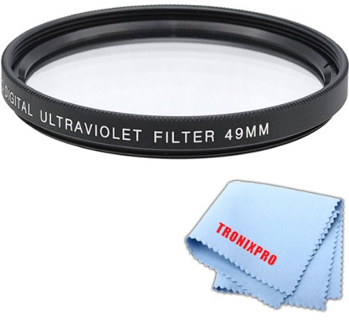 Standard Coated Series - 49mm Pro series Multi-Coated High Resolution Digital Ultraviolet Filter For Sony 50mm f/1.8 DT Alpha A-Mount Standard Prime Lens
