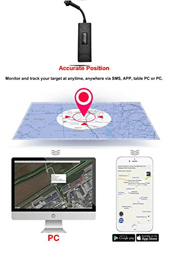 Long Distance Car Monitor Personal GPS Tracker Motorbike Engine Cut Spy Tracker with Free Lifetime Platform Tracking by TK STAR (Image #2)