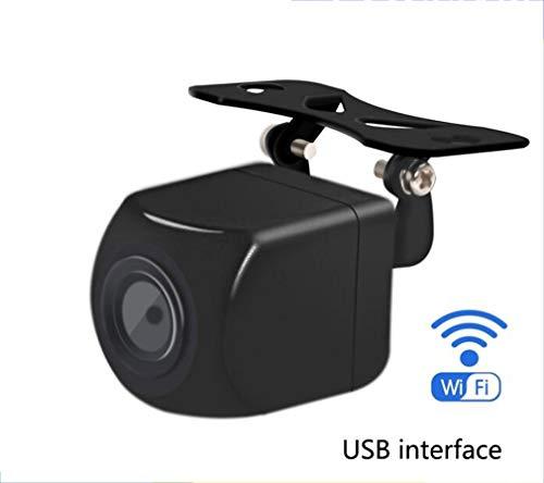 Huashao Wireless Reversing Rear View Camera, 1280P Night Vision Car Camera, USB Interface Universal F-Car Easy Installation