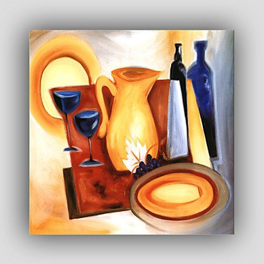 HY& GG Abstract Dipinti / Famosi / Still Life / Fantasy / Tempo Libero / Stile Moderno / Realismo Pittura Ad Olio {Unica Tela} haiyanggege
